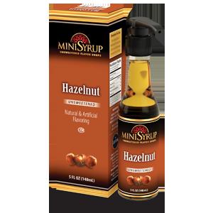 Minisyrup-Hazelnut