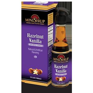Minisyrup-HazelnutVanilla