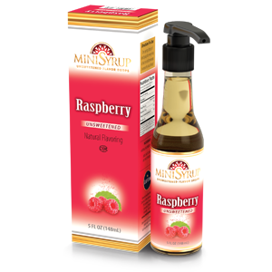 Minisyrup-Raspberry
